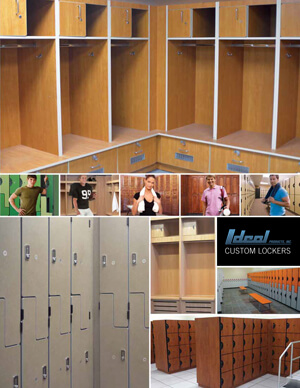 Custom Built Lockers Catalog