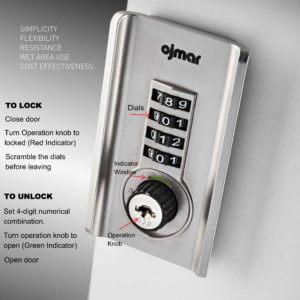 Keyless Locker Lock