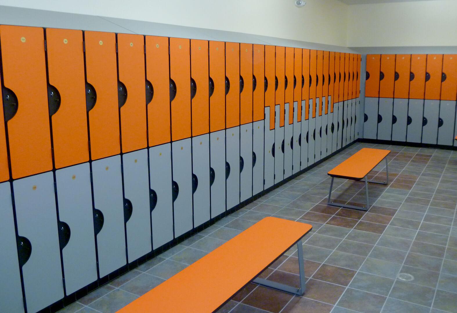 Ideal products custom locker & locker room manufacturing experts