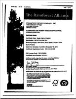 Rainforest Alliance Phillips