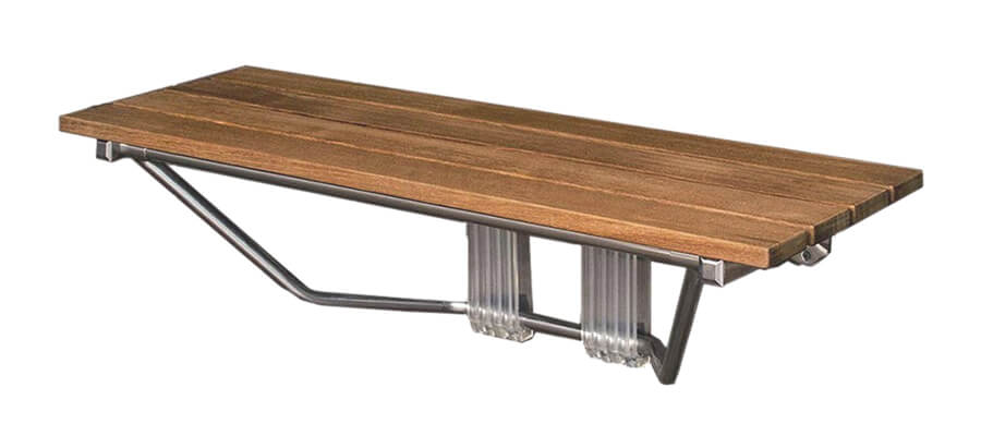 Mounted Foldable Bench